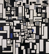 Composition Ix Print by Theo Van Doesburg