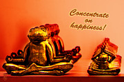 Germany Digital Art Originals - Concentrate on Happiness by Li   van Saathoff