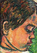 Impressionism Originals - Concentration by Kendall Kessler