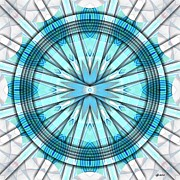 Concentric Eccentric 3 Print by Brian Johnson