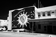 Mural Photos - Conch Republic Flag Mural Key West International Airport Florida Usa by Joe Fox
