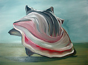 Shell Paintings - Concha II by Jacco Hinke Schouten