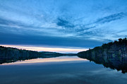 Concord Metal Prints - Concord Blue Hour Reflections Metal Print by Scott Snyder