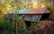 Covered Bridge Prints - Concord Covered Bridge 2 Print by Reid Callaway