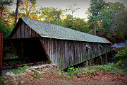 Covered Bridge Prints - Concord Covered Bridge Print by Reid Callaway