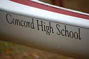 Concord Metal Prints - Concord High School Metal Print by George Bogosian