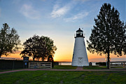 Concord Point Metal Prints - Concord Point Lighthouse Metal Print by Sabrina Raymond