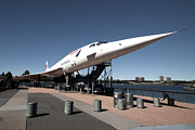 American Airways Metal Prints - Concorde Metal Print by Rob Hawkins