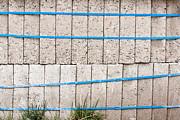 Concrete Blocks Print by Tom Gowanlock