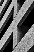 Architectural Abstract Posters - Concrete lines Poster by Hideaki Sakurai