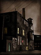 Abandoned Buildings Posters - Condemned Poster by Colleen Kammerer