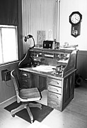 Desk Originals - Conductors Office in Thurmond Depot by R David Johnson