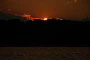 Finger Lakes Photo Originals - Conesus Lake at Dusk by Steve Clough