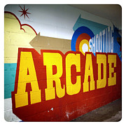 Arcade Digital Art - Coney Island Arcade by Natasha Marco