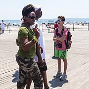 Frank Winters - Coney Island Boardwalk July 2014
