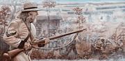 Confederate At Chickamauga Print by Alton  w Williams
