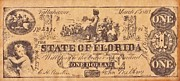 Signature Mixed Media Prints - Confederate Money 6 Print by Todd and candice Dailey