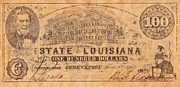 Signature Mixed Media Prints - Confederate Money 9 Print by Todd and candice Dailey
