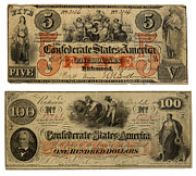 Currency - Confederate Money