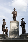 Confederate Monument Prints - Confederate Monument Print by Jason O Watson