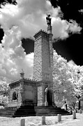 Confederate Monument Prints - Confederate resting place Print by Paul W Faust -  Impressions of Light