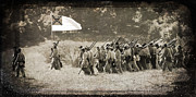 Janelle Oliver - Confederate Troops on...