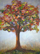 Fine Art - Still Lifes Prints - Confetti Tree Print by Enzie Shahmiri
