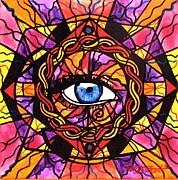 Healing Image Paintings - Confident Self Expression by Teal Eye  Print Store