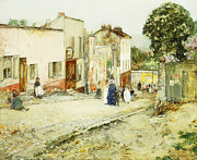 Confirmation Day Print by Childe Hassam