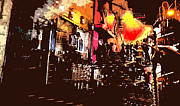 Towns Digital Art - Conflagration 2 by Bruce Iorio