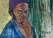 Old Age Paintings - Confusion by EricA