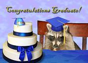Jeanette K - Congratulations Graduate Raccoon