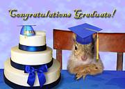 Jeanette K - Congratulations Graduate Squirrel