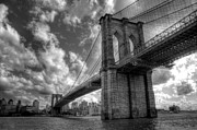 Brooklyn Bridge Photo Posters - Connect Poster by Johnny Lam
