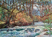 Wildwood Park Paintings - Connellys Run by Kendall Kessler