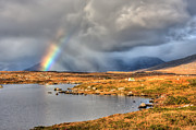 Connemara Photos - Connemara Rainbow Ireland by Pierre Leclerc