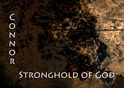 Torn Painting Framed Prints - Connor - Stronghold of God Framed Print by Christopher Gaston