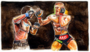 Ufc Drawings - Conor McGregor by Dave Olsen