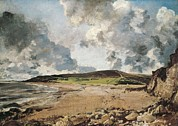 Weymouth Bay Posters - Constable, John 1776-1837. Weymouth Bay Poster by Everett