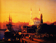 Whistler Paintings - Constantinople 1856 by MotionAge Art and Design - Ahmet Asar