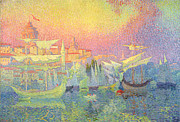 Sailboat Paintings - Constantinople by Henri Person