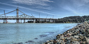Bay Bridge Photos - Constructing the New Bay Bridge by Noah Katz