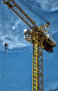 Construction Crane Asia Print by Antony McAulay