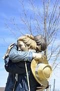 Allen Beatty Art - Contact by J. Seward Johnson Jr. by Allen Beatty