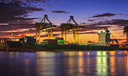 Terminal Prints - Container Cargo Print by Anek Suwannaphoom