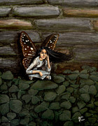 Contemplating Originals - Contemplating in Clovers by Molly Prince