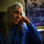 Portrait Format Digital Art - Contemplation in Moonlight by RC deWinter