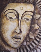 Parul Mehta - Contemplation- The Buddha