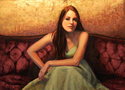 Contemplative Paintings - Contemplative by Colleen Gallo