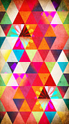 Geometric Shapes Posters - Contemporary 2 Poster by Mark Ashkenazi